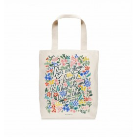 Tote Bag Seeing Flowers