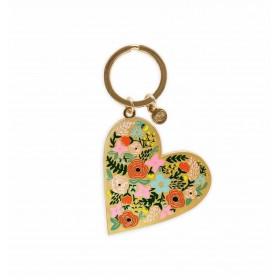 Llavero Floral Heart