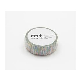 Washi Tape MT block blue
