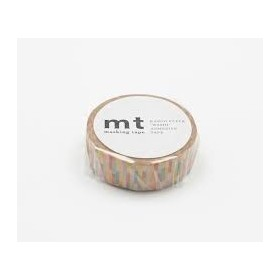 Washi Tape MT block pink