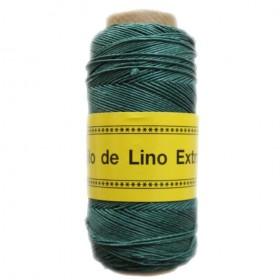 Lino Encerado Verde Azulado