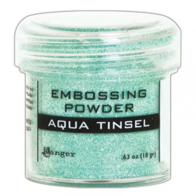 Polvos Embossing Aqua Tinsel