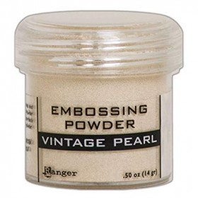Polvos Embossing Vintage Pearl