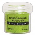 Polvos Embossing Lime Tinsel