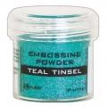 Polvos Embossing Teal Tinsel