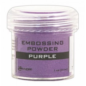 Polvos Embossing Purple Tinsel