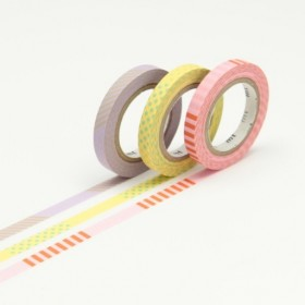 Pack Washi Tape MT slim deco A