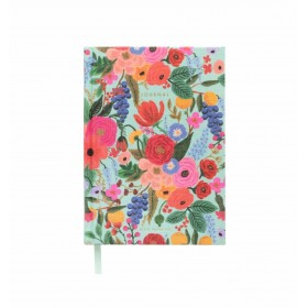 Cuaderno Fabric Journal Garden Party