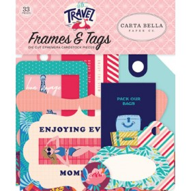Frames & Tags Let's travel