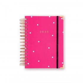 Agenda 2020 Diaria Mediana Pink