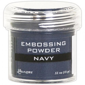 Polvos embossing Navy