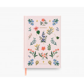Cuaderno fabric journal wildwood