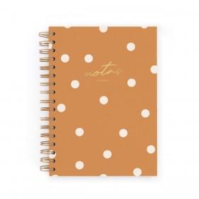 Cuaderno A5 canela
