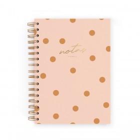 Cuaderno A5 Pink Canela