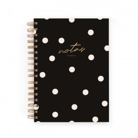 Cuaderno A5 negro