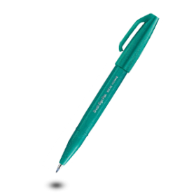 Brush Sign Pen Turquoise Green